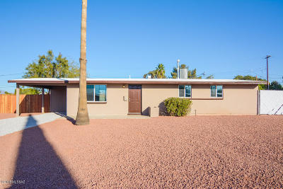 Tucson Single Family Home For Sale: 1725 S Avenida Regulo