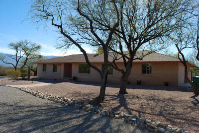 Pima County, Pinal County Single Family Home Active Contingent: 10600 E Calle Vaqueros
