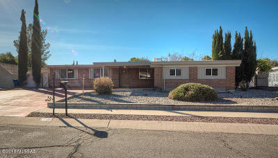 Tucson Single Family Home For Sale: 8530 E Calle Bogota