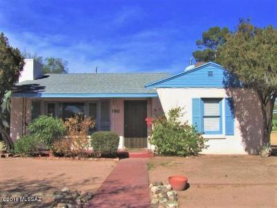Pima County Single Family Home For Sale: 3125 E Lester Street