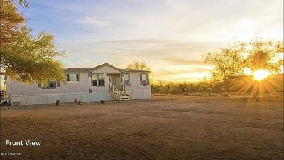 Pima County Manufactured Home For Sale: 14275 W Guy Street