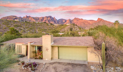 Tucson Single Family Home Active Contingent: 3635 E Kingler Spring Place