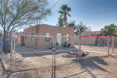 Tucson Single Family Home Active Contingent: 3534 E Presidio Road