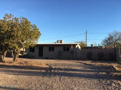 Tucson Single Family Home For Sale: 1849 W Calle Del Arroyito