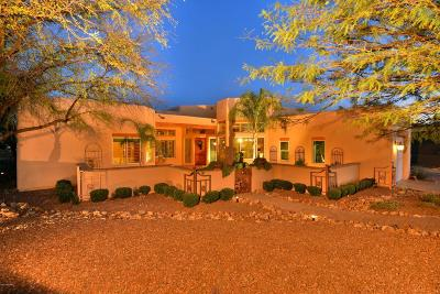 Pima County Single Family Home For Sale: 12734 N Vistoso Pointe Drive