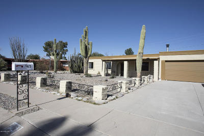 Tucson Single Family Home For Sale: 945 N Miller Drive