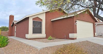 Tucson Single Family Home For Sale: 9745 E Sascha Street