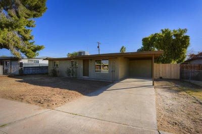 Tucson Single Family Home For Sale: 1621 W Greenlee Street