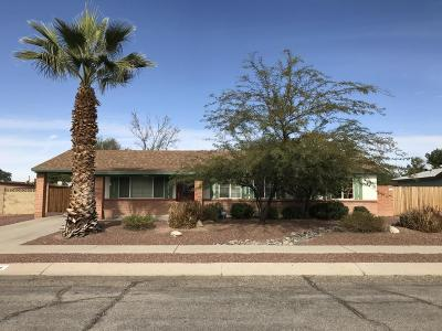 Tucson Single Family Home For Sale: 3024 W Coriander