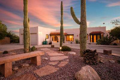 Tucson Single Family Home Active Contingent: 6801 N Green Mountain Place
