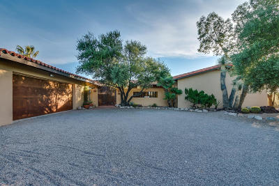 Tucson Single Family Home For Sale: 5230 N Via Condesa