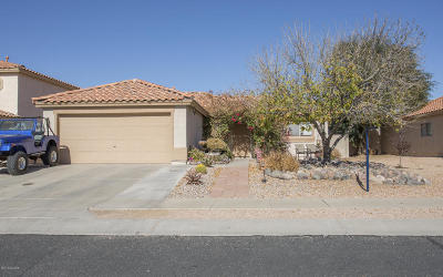 Tucson Single Family Home For Sale: 5516 W Cortaro Crossing Drive