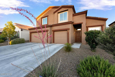 Tucson Single Family Home Active Contingent: 9886 N Crook Lane