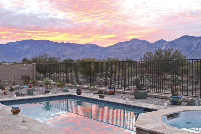 Oro Valley Single Family Home Active Contingent: 969 W Golden Barrel Court