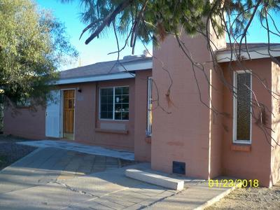 Tucson AZ Single Family Home For Sale: $99,900