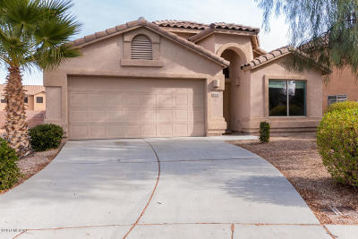Tucson Single Family Home Active Contingent: 8046 W Misty Brook Place