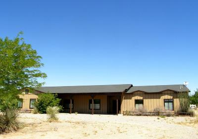 Cochise County Single Family Home For Sale: 4506 E Cochise Trail