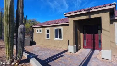 Tucson Single Family Home Active Contingent: 4523 N Hacienda Del Sol