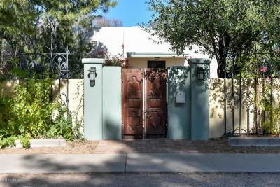 Pima County Single Family Home Active Contingent: 1951 E Lee Street