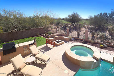 Marana Single Family Home Active Contingent: 5863 W Sonoran Links Lane