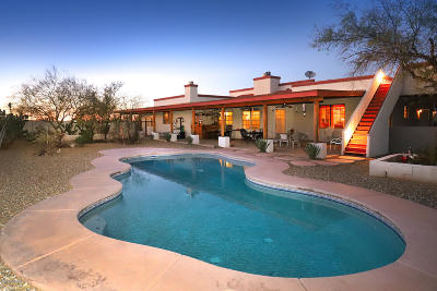Pima County Single Family Home For Sale: 7651 W Velo Road