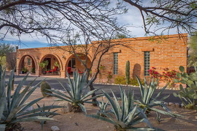 Tucson Single Family Home Active Contingent: 6820 N Solaz Primero