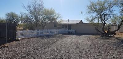 Tucson Single Family Home Active Contingent: 12715 W Cactus Ridge Drive