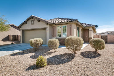 Tucson AZ Single Family Home Active Contingent: $177,000