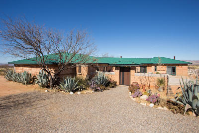 Cochise County Single Family Home For Sale: 1150 N Raven Lane