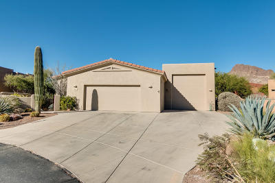 Pima County Single Family Home Active Contingent: 2240 S Diamond D Drive
