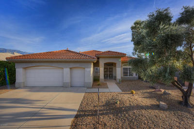 Oro Valley Single Family Home Active Contingent: 1822 E Lone Rider Way