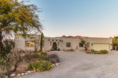 Tucson Single Family Home Active Contingent: 1631 E Entrada Septima