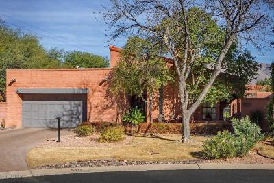 Tucson Single Family Home Active Contingent: 5111 E Woodgate Lane