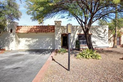 Pima County Townhouse For Sale: 7275 E Camino Bacelar