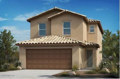Tucson Single Family Home Active Contingent: 6256 N Catalano Villa Place N