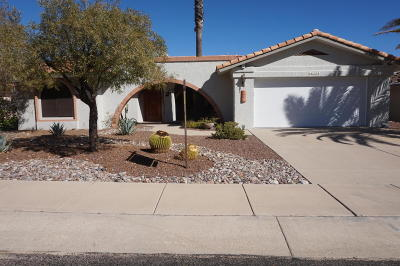 Oro Valley Single Family Home Active Contingent: 14564 N Lone Wolf Lane