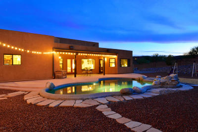 Tucson Single Family Home For Sale: 4358 W Hiddenwood Place