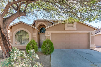 Pima County, Pinal County Single Family Home Active Contingent: 4340 E Cholla Desert Trail