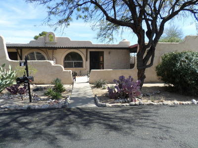 Tucson Townhouse For Sale: 5214 N Tigua Drive