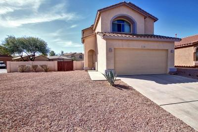 Pima County Single Family Home Active Contingent: 15106 S Theodore Roosevelt Way