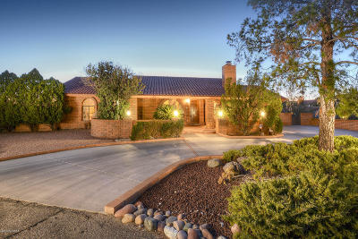 Tucson Single Family Home For Sale: 6620 E River Hills Place