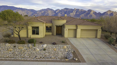 Oro Valley Single Family Home Active Contingent: 12640 N Yellow Bird Road
