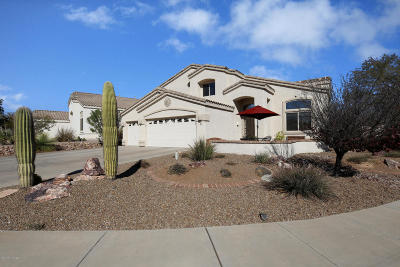 Oro Valley Single Family Home For Sale: 385 W Sacaton Canyon Drive