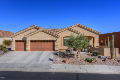 Marana Single Family Home Active Contingent: 12322 N Golden Mirror Drive