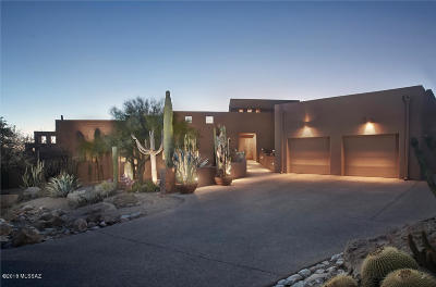 Single Family Home For Sale: 6515 N Ventana Canyon Drive