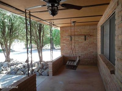 Willcox Single Family Home For Sale: 1395 W Old Stewart Road
