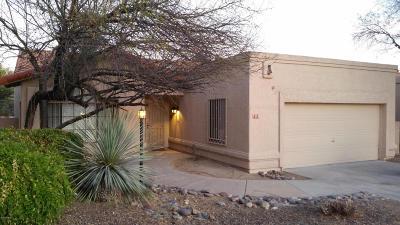 Tucson Single Family Home Active Contingent: 7391 E Damasco Place