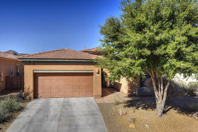 Tucson Single Family Home Active Contingent: 8713 N Shadow Wash Way