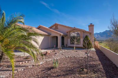 Pima County Single Family Home Active Contingent: 1153 W Desert Greens Way