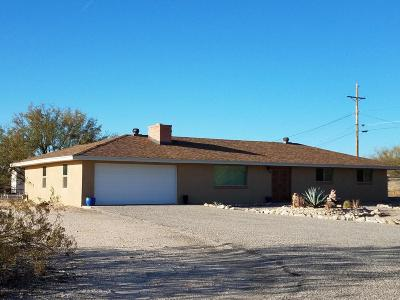 Pima County Single Family Home For Sale: 870 W Roller Coaster Road